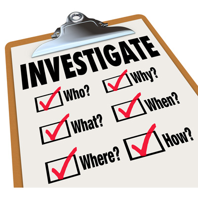 Incident Reporting & Investigation